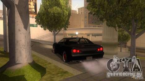 Super Elegy для GTA San Andreas вид сзади слева