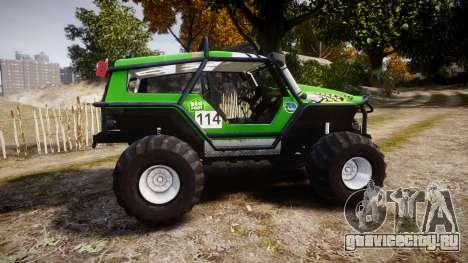 Tiger 4x4 для GTA 4 вид слева