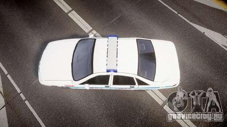 Chevrolet Caprice Liberty Police v2 [ELS] для GTA 4 вид справа