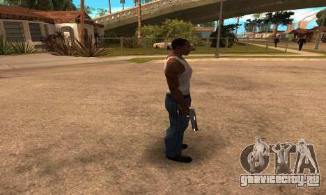 Deagle White and Black для GTA San Andreas третий скриншот