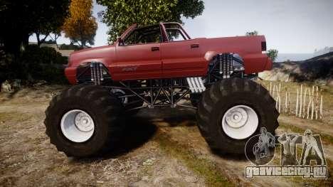 Albany Cavalcade FXT Cabrio Monster Truck для GTA 4 вид слева