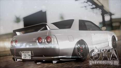 Nissan Skyline R32 для GTA San Andreas вид слева