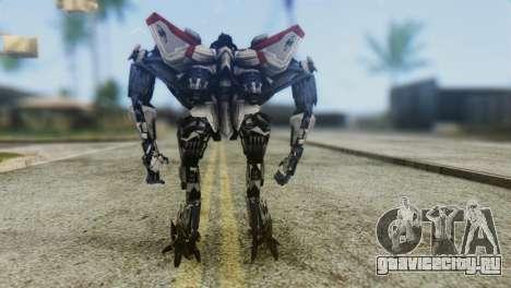 Starscream Skin from Transformers v1 для GTA San Andreas третий скриншот