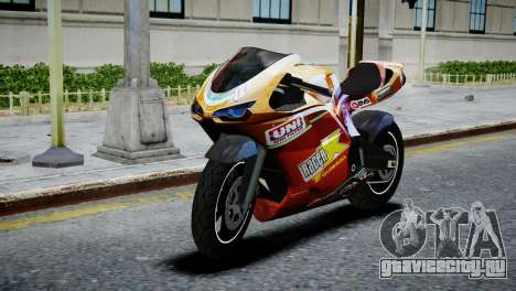 Bike Bati 2 HD Skin 1 для GTA 4