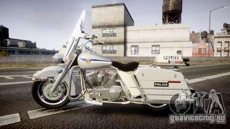 Harley-Davidson FLH 1200 SPVQ [ELS] для GTA 4 вид слева