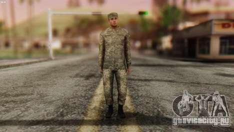 Военнослужащий Вооруженных Сил Украины для GTA San Andreas второй скриншот