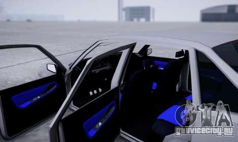 Daewoo Nexia 2006 для GTA San Andreas вид изнутри
