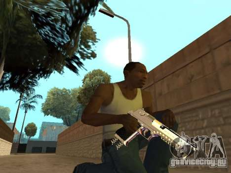Chameleon Weapon Pack для GTA San Andreas шестой скриншот