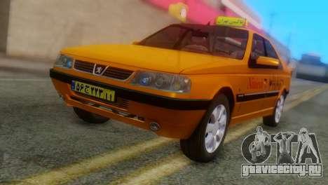 Peugeot 405 Slx Taxi для GTA San Andreas