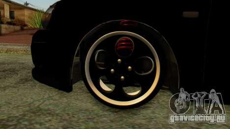 ВАЗ 2172 Coupe для GTA San Andreas вид сзади слева