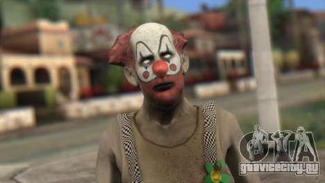 Zombie Clown from Left 4 Dead 2 для GTA San Andreas третий скриншот