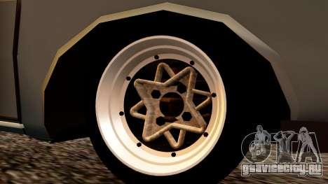 Dacia 1300 Tuning для GTA San Andreas вид сзади слева