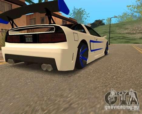 Инфернус Кожи для GTA San Andreas вид слева