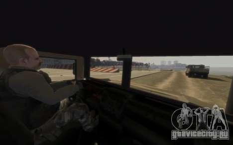 GTA 5 Millitary Patriot для GTA 4 вид сзади слева