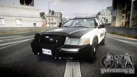 Ford Crown Victoria Alderney Police для GTA 4