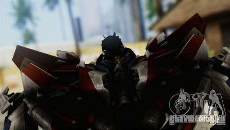 Starscream Skin from Transformers v1 для GTA San Andreas