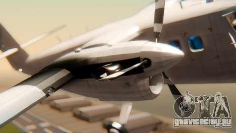 DHC-6-300 Twin Otter для GTA San Andreas вид справа