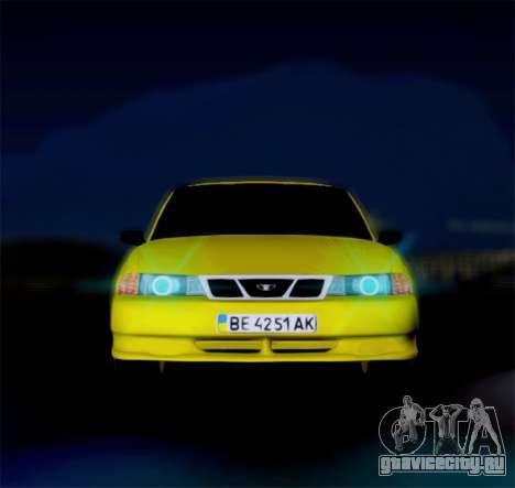 Daewoo Nexia 2006 для GTA San Andreas вид слева