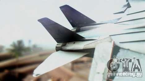 F-14D VF-2 Bounty Hunters для GTA San Andreas вид сзади слева