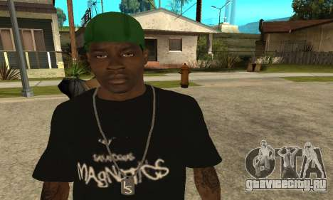 Groove St. Nigga Skin The Third для GTA San Andreas