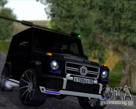 Brabus B65 Angry для GTA San Andreas вид слева