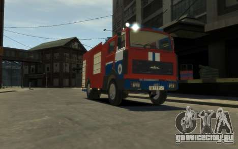 МАЗ 533702 МЧС Беларуси для GTA 4 вид слева
