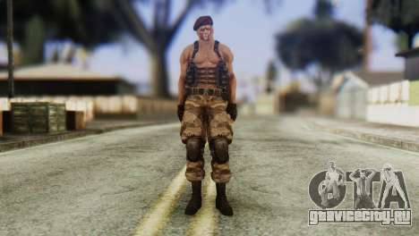 Jack Krauser Skin from Resident Evil для GTA San Andreas второй скриншот