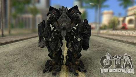 Ironhide Skin from Transformers v2 для GTA San Andreas второй скриншот