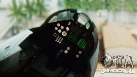 F-14D VF-2 Bounty Hunters для GTA San Andreas вид сзади