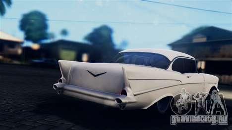 Chevrolet Bel Air 1957 FF Style для GTA San Andreas вид слева