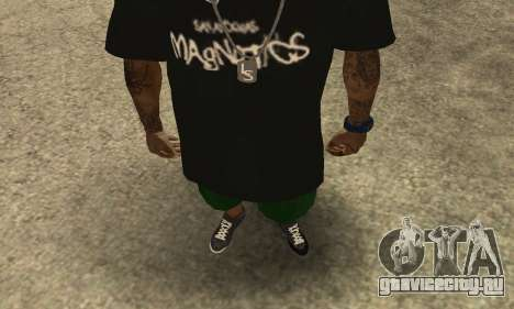 Groove St. Nigga Skin The Third для GTA San Andreas второй скриншот