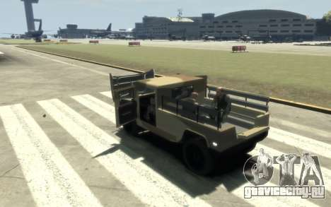 GTA 5 Millitary Patriot для GTA 4 вид изнутри
