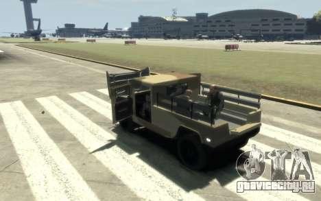 GTA 5 Millitary Patriot для GTA 4 вид изнутри