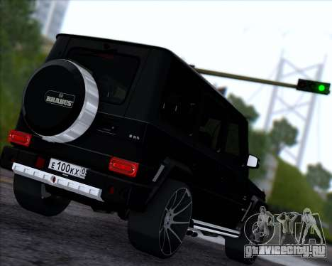 Brabus B65 Angry для GTA San Andreas вид справа