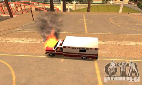 Perfect Weather and Effects for Low PC для GTA San Andreas третий скриншот