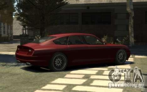Pfister Alterego для GTA 4 вид слева