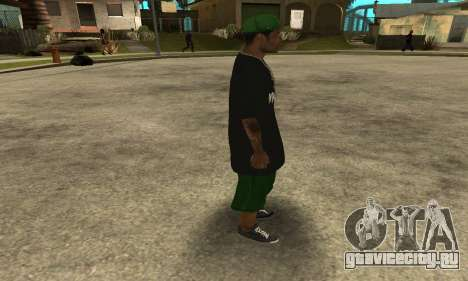 Groove St. Nigga Skin The Third для GTA San Andreas четвёртый скриншот