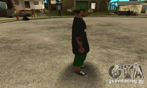 Groove St. Nigga Skin The Third для GTA San Andreas четвёртый скриншот