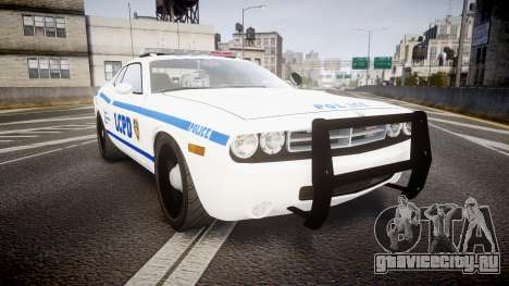 Dodge Challenger LCPD [ELS] для GTA 4
