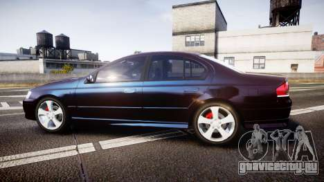 Ford Falcon XR8 2004 Unmarked Police [ELS] для GTA 4 вид слева