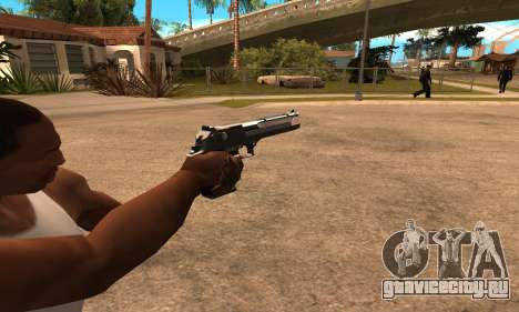 Deagle White and Black для GTA San Andreas