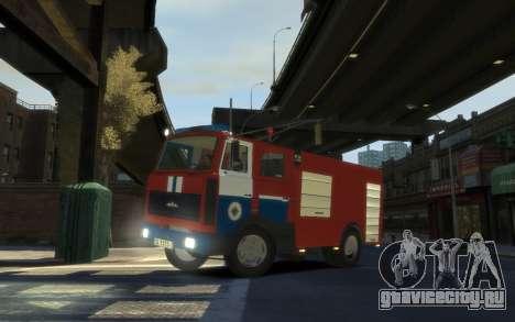 МАЗ 533702 МЧС Беларуси для GTA 4