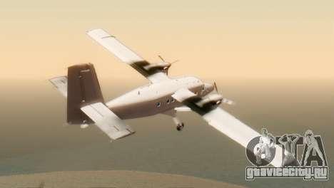 DHC-6-300 Twin Otter для GTA San Andreas вид слева