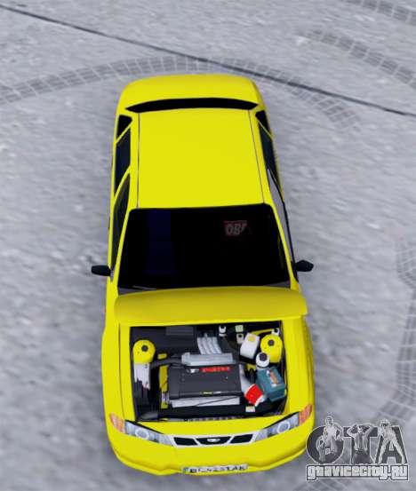 Daewoo Nexia 2006 для GTA San Andreas вид сзади