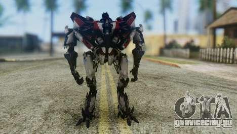 Starscream Skin from Transformers v1 для GTA San Andreas второй скриншот