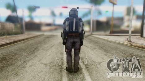 Star Wars Repulic Commando 2 Jango Fett для GTA San Andreas второй скриншот