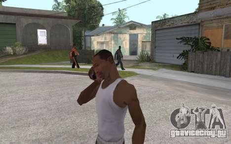 Телефонная трубка для GTA San Andreas третий скриншот