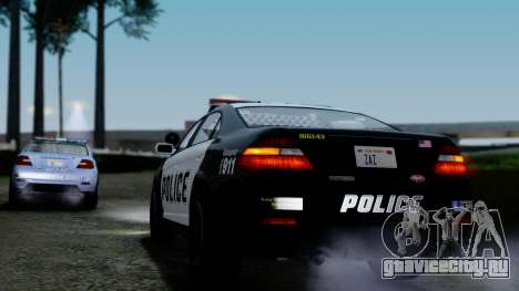 GTA 5 Vapid Police Interceptor v2 IVF для GTA San Andreas вид снизу