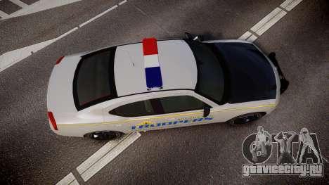 Dodge Charger Alaska State Trooper [ELS] для GTA 4 вид справа