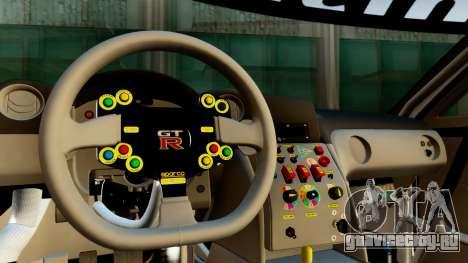 Nissan GT-R (R35) GT3 2012 PJ1 для GTA San Andreas вид справа